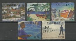 ANGUILLA 2000  ARTS FESTIVAL SET MNH - Anguilla (1968-...)