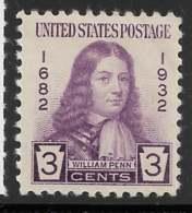 Yvert 316 Michel 351 - 3 C Violet - * - United States