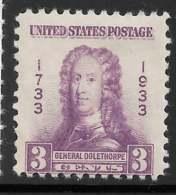 Yvert 318 Michel 353 - 3 C Violet - * - United States