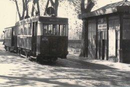 Toulouse (31) En 1956 - Tramway De Toulouse - Tramway Au Terminus Des Ponts Jumeaux - Toulouse