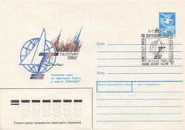 RUSSIA CCCP - Intero Postale - VELA - SAIL - VOILE - TALLINN  1988 - Vela