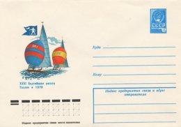 RUSSIA CCCP - Intero Postale - VELA - SAIL - VOILE - TALLINN  1979 - Vela