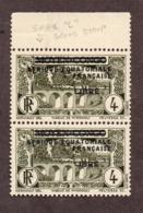 AEF N°108d+108 N** LUXE Cote Min 180 Euros !!!RARE - A.E.F. (1936-1958)