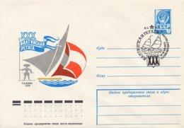 RUSSIA CCCP - Intero Postale - VELA - SAIL - VOILE - TALLINN  1978 - Vela