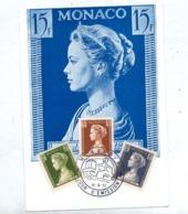 Carte Maximum 1957 Grace - Cartoline Maximum