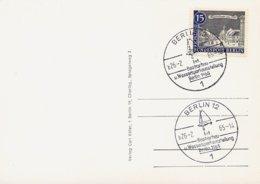 GERMANIA BERLINO - 1965  BOOTSSCHAU  WASSERSPORT - Vela