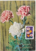 """CM: FRANCE: FLORE: """"Dites-le Avec Des Fleurs"""" L'OEILLET , Symbolise LA FIDELITE  1er Jour 10.02.2012 N° 667 - 2010-..."""