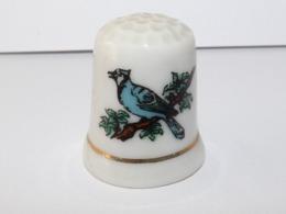 Dé à Coudre Oiseau Bleu - Ditali Da Cucito