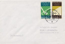 GERMANIA MONACO  1969   GIOCHI OLIMPICI  VELA - Vela