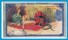 IMAGE TEINTURE LA CAYOLAISE  CANTRELLE & Cie Fab Chim VERSAILLES / VERGER FRERES & Cie PARIS / LES PLATS NATIONAUX RIZ - Otros
