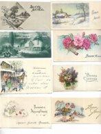 """Lot De 40 Cartes Postales De Voeux """" Bonne Année """" - Toutes Scannées - Nouvel An"""