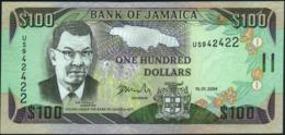 JAMAICA - 100 Dollars 15.01.2004 UNC P.80 D - Jamaica