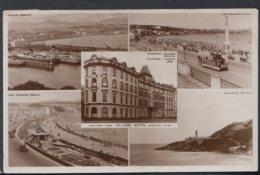 Isle Of Man Postcard - Greetings From Villiers Hotel, Douglas   DC2108 - Isle Of Man