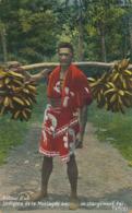 Tahiti Retour D' Un Indigene De La Montagne Avec Un Chargement De Fei . Homes  Color - Tahiti