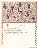 België - TELEGRAM - Regie Van Telegraaf En Telefoon - Gent 6-7-1963 - Ill. N. Acket - B 21 (NL) - Documents Of Postal Services