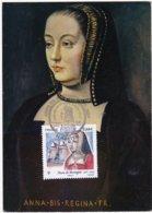 CM: FRANCE: Personnalité:  ANNE De BRETAGNE,Duchesse De Bretagne Et  Comtesse De MONTFORT 1er Jour 11.01.2014 - Maximum Cards