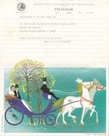 België - TELEGRAM - Regie Van Telegraaf En Telefoon - Gent 6-7-1963 - Ill. Ph. Salembier - A 25 (NL) - Documents Of Postal Services