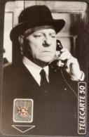 Telefonkarte Frankreich - Werbung - Kino , Cinema - Jean Gabin   - 50 Units - 03/93 - Frankreich