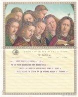 België - TELEGRAM - Regie Van Telegraaf En Telefoon - Gent 6-7-1963 - Het Lam Gods, Der Gebroeders Van Eyck - B 19 (NL) - Documents Of Postal Services