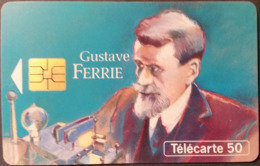 Telefonkarte Frankreich - Werbung - Gustave Ferrie   - 50 Units - 08/93 - Frankreich
