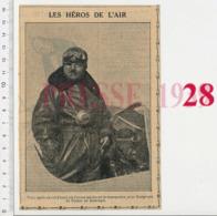 Coli (François) Aviateur Avion Aviation évocation De Nungesser 223CHV18 - Vieux Papiers