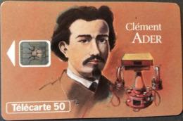 Telefonkarte Frankreich - Werbung - Clement Ader   - 50 Units - 03/94 - Frankreich