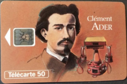 Telefonkarte Frankreich - Werbung - Clement Ader   - 50 Units - 03/94 - Frankrijk
