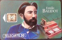 Telefonkarte Frankreich - Werbung - Emile Baudot   - 50 Units - 05/93 - Frankreich