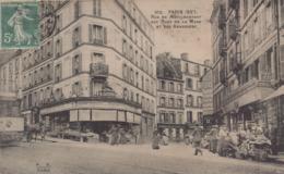 Paris 20eme : Rue De Ménilmontant Aux Rues De La Mare Et Des Amandiers - District 20