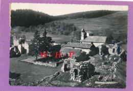 CPSM - MAZAN-l'ABBAYE (Ardèche) - 4. Ruines De L'abbaye Cistercienne De Mazan Fondée En 1120 - France