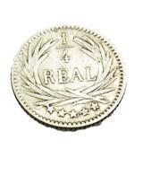 1/4 De Réal - Guatemala - Argent 835/..  - 1894 - TTB + - Guatemala