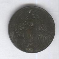 10 Centimes France 1904 - France