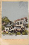 Wienerwald * Rohrerhütte, Pferde, Kutsche, Leute * Österreich * AK1648 - Mödling