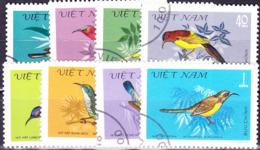 Vietnam - Vögel (MiNr: 1171/78) 1981 - Gest Used Obl - Vietnam