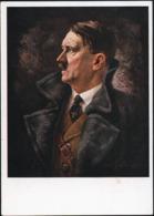 AK/CP   Adolf  Hitler  Propaganda  Nazi  Ungel/uncirc. 1933-45    Erhaltung/Cond. 2  Nr. 00893 - Weltkrieg 1939-45