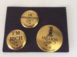3 PIN'S PACO RABANNE - Miniatures Modernes (à Partir De 1961)