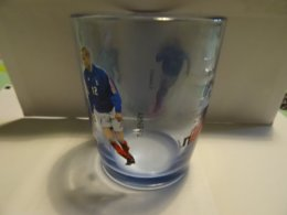 Verre Collection Nutella Football Coupet, Henry, Marlet, Glass Publicity - Nutella