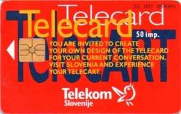 Telekom Slovenije, TS037, Telecard, 7,000 Units Issued, Unused. - Eslovenia