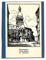 21 - Notre-Dame De BEAUNE, Bourgogne - Chemins De Fer P.L.M. - Illust. Jean Julien - Beaune