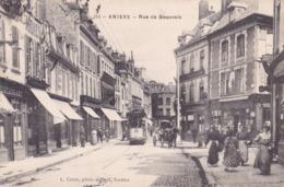 80. Amiens. Rue De Beauvais. Tram. Voyagée. TBE - Amiens