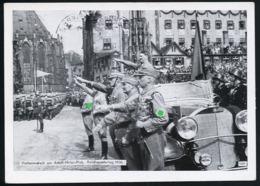 AK/CP Nürnberg  Reichsparteitag  Hitler  Propaganda  Nazi  Gel/circ. 1936   Erhaltung/Cond. 2    Nr. 00899 - Weltkrieg 1939-45