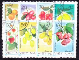 Vietnam - Früchte (MiNr: 1179/86) 1981 - Gest Used Obl - Vietnam