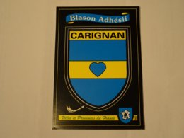 Blason écusson Adhésif Autocollant Sticker Coat Of Arms; Aufkleber Wappen Carignon Ardennes - Obj. 'Remember Of'