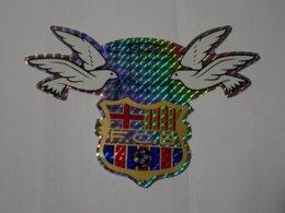 Blason écusson Adhésif Autocollant Sticker Coat Of Arms; Aufkleber Wappen Escudo Adhesivo FC Barcelona - Obj. 'Remember Of'