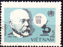Vietnam - 100. Jahrestag Der Entdeckung Des Tuberkulose-Erregers Durch Robert Koch (MiNr: 1308) 1983 - Gest Used Obl - Viêt-Nam