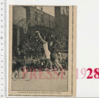 Un Match De Basket-ball Aux Arènes De Lutèce (Paris) Vintage Sport 223CHV18 - Vecchi Documenti