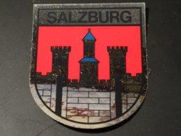 Blason écusson Adhésif Autocollant Sticker Coat Of Arms; Aufkleber Wappen Escudo Adhesivo Salzbourg Salzburg - Obj. 'Remember Of'