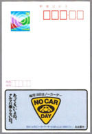 DIA SIN COCHES - NO CAR DAY. Echocard De Japon - Protección Del Medio Ambiente Y Del Clima