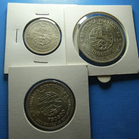 Portugal Collection 3 Coins 1983 Silver (500, 750 And 1000 Escudos) - Portugal