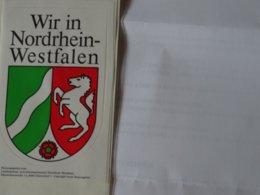 Grand Blason écusson Chateau Adhésif Autocollant Sticker Coat Of Arms; Aufkleber Wappen  Nordrhein Westfalen - Obj. 'Remember Of'
